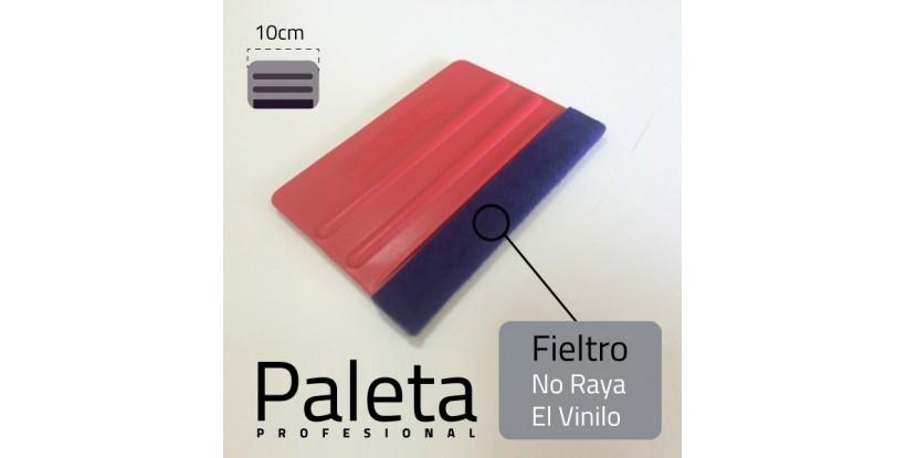 Paleta, Espátula de aplicación profesional blanda