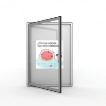 Vitrina magnética de interior