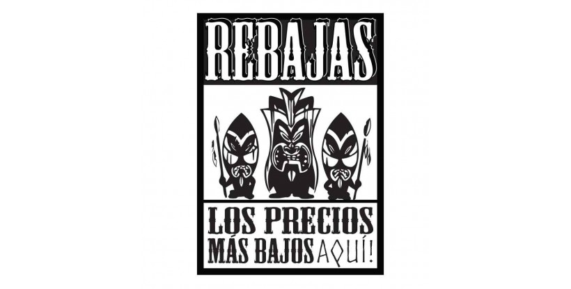 Cartel Rebajas Tribal