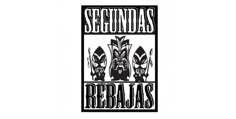 Cartel Segundas Rebajas Tribal