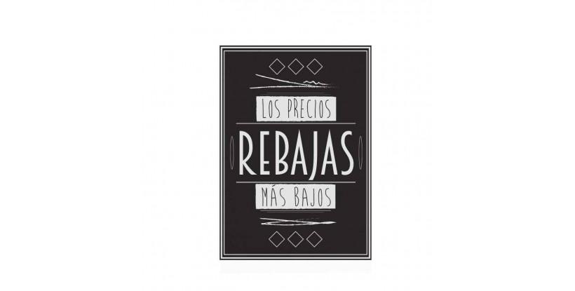Cartel Rebajas Vintage