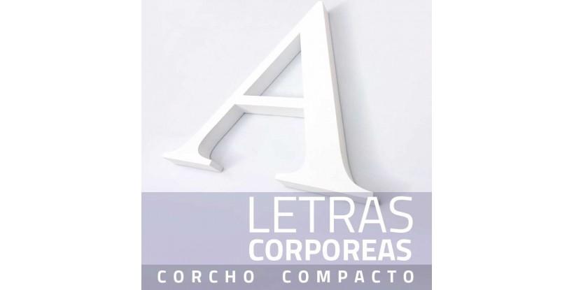 Letras de Corcho Compacto