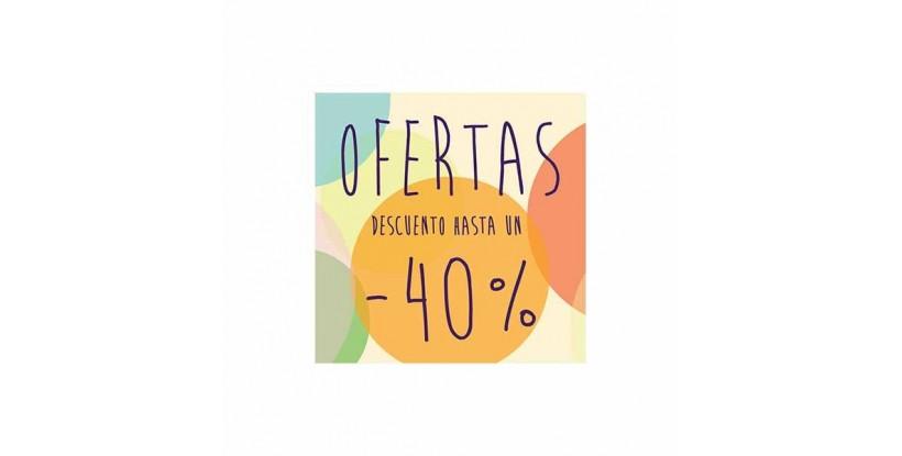 Cartel ofertas -40% circulitos