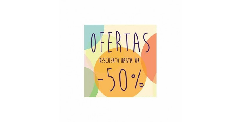 Cartel ofertas -50% circulitos