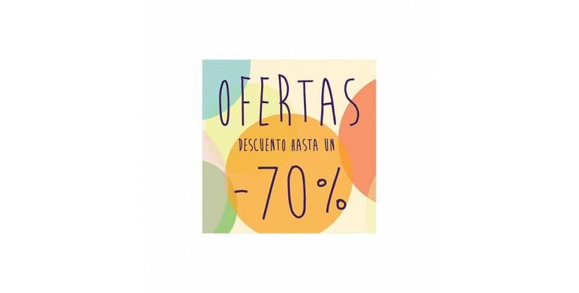 Cartel ofertas -70% circulitos