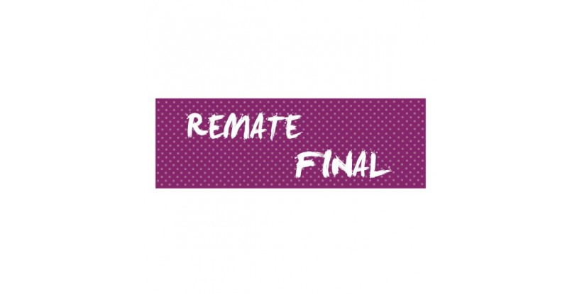 Cartel remate final puntitos