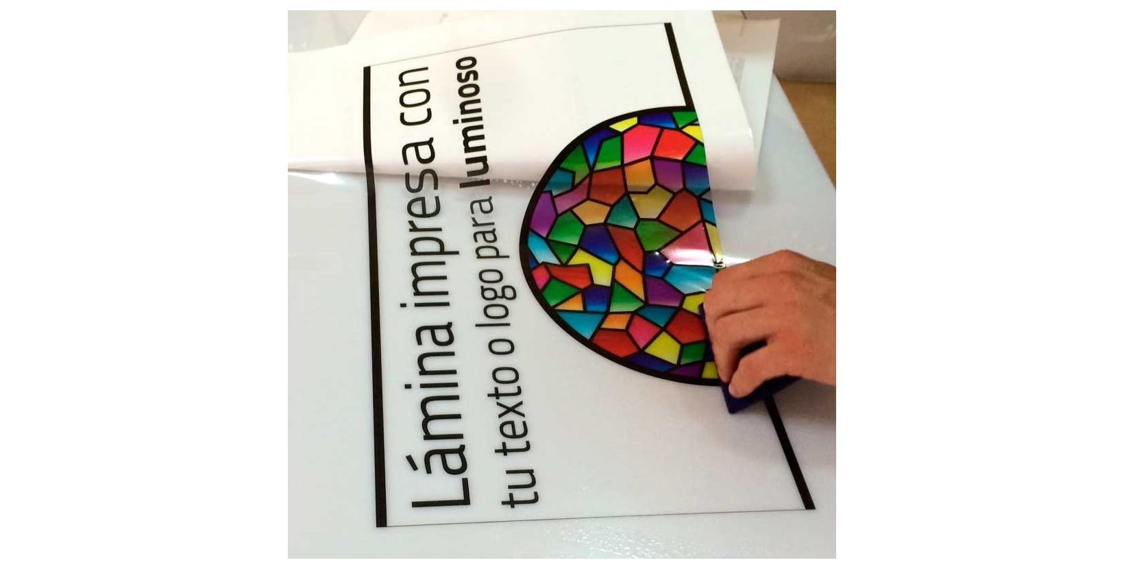 Vinilo adhesivo para r tulo luminoso vinilos para banderolas - Fotos en vinilo adhesivo ...