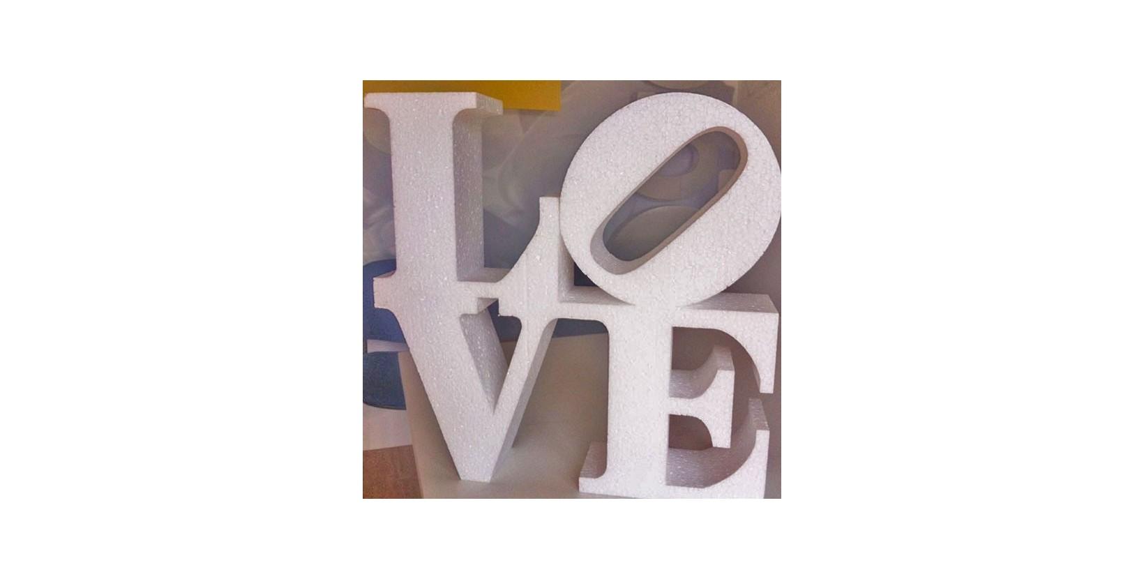 Letras love para bodas disponibles en cualquier color for Letras gigantes para bodas baratas