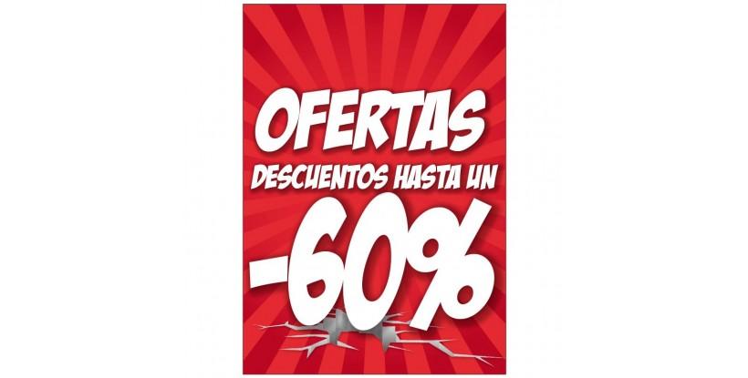 Cartel con Ofertas -60% Medi Market