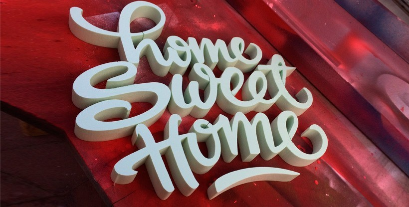 letras decoraci n home sweet home