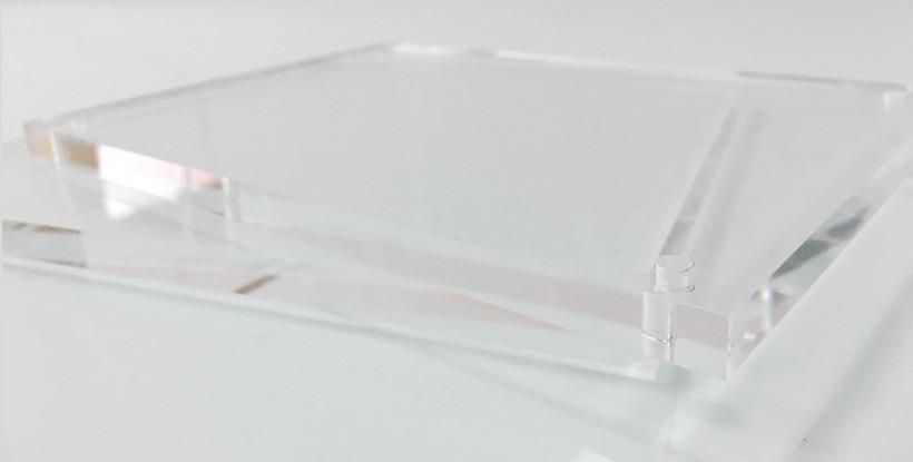 Placas de metacrilato sin rotular 10 mm