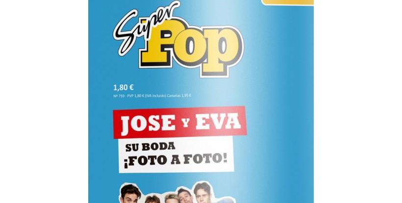 Photocall Boda Revista Super POP