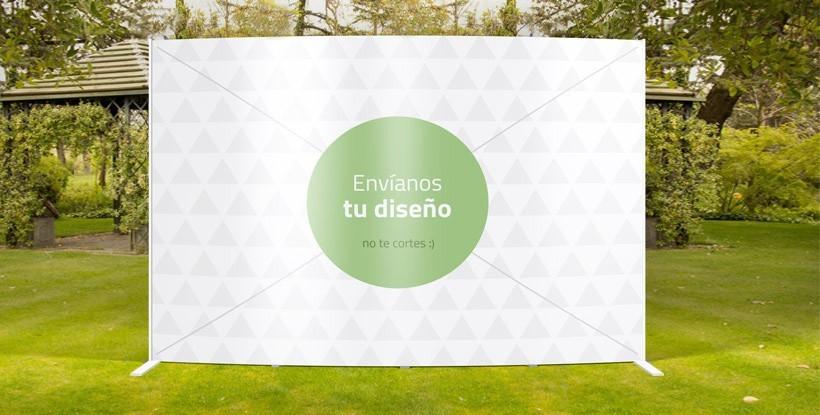 Photocall Exterior Personalizado
