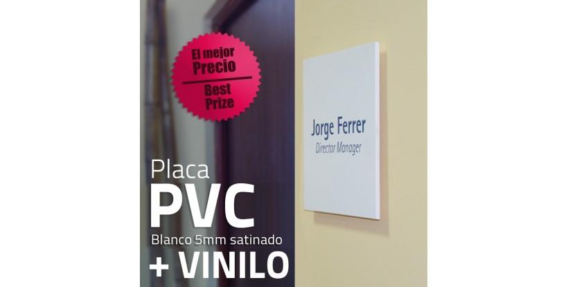 Placa PVC y Vinilo
