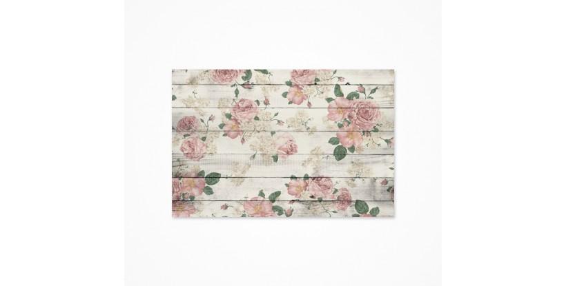 Fondo fotográfico estilo rosas rosas