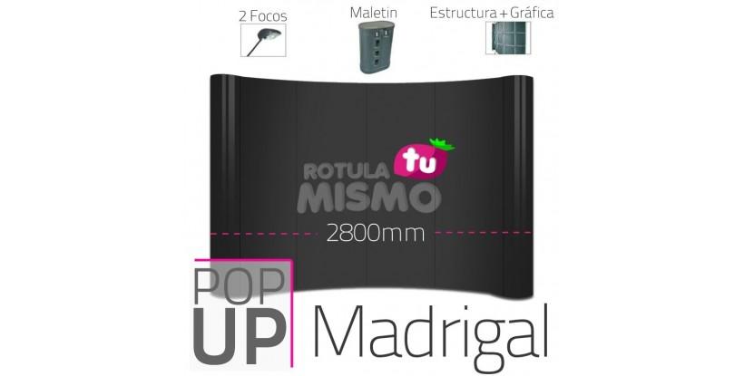 Pop Up Madrigal Curvo