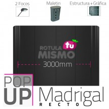 Pop Up Madrigal Recto