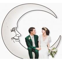 Photocall Luna para Boda
