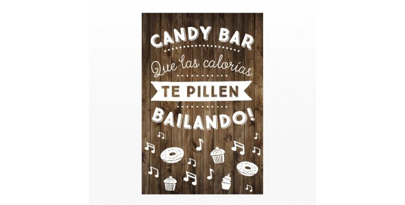 Cartel Boda Candy Bar