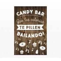Cartel Boda Candy Ba
