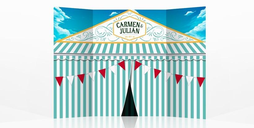 Photocall boda Feria de Abril