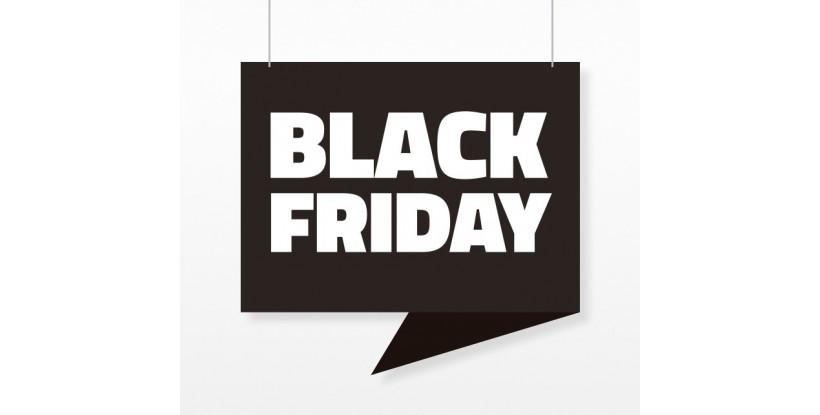 Cartel Colgante Black Friday