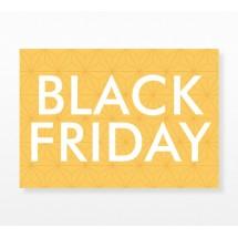 Cartel Black Friday Geométrico Colores