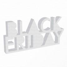 Letras escaparate Black Friday