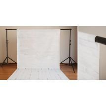 Fondo fotográfico ladrillo blanco