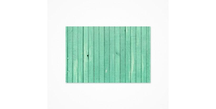 Fondo fotográfico madera turquesa