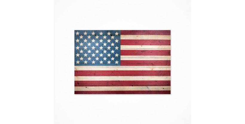 Fondo fotográfico bandera americana