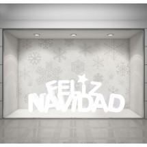 letras feliz navidad corcho