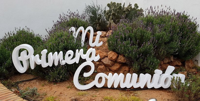 Letras Mi Primera Comunión + Nombre