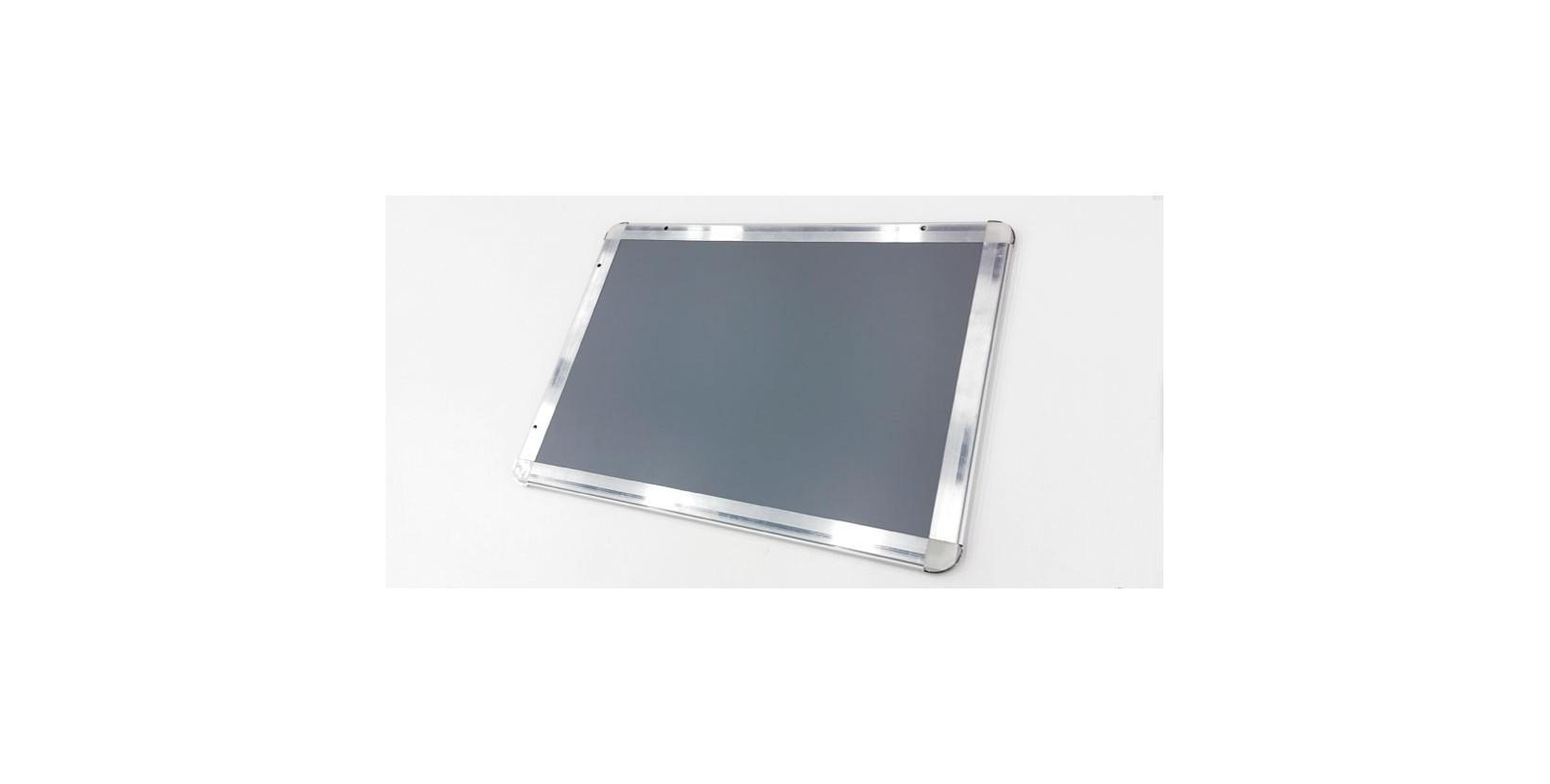 Marco aluminio para cartelería intercambiable