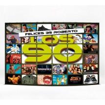 Photocall Cumpleaños de los 90