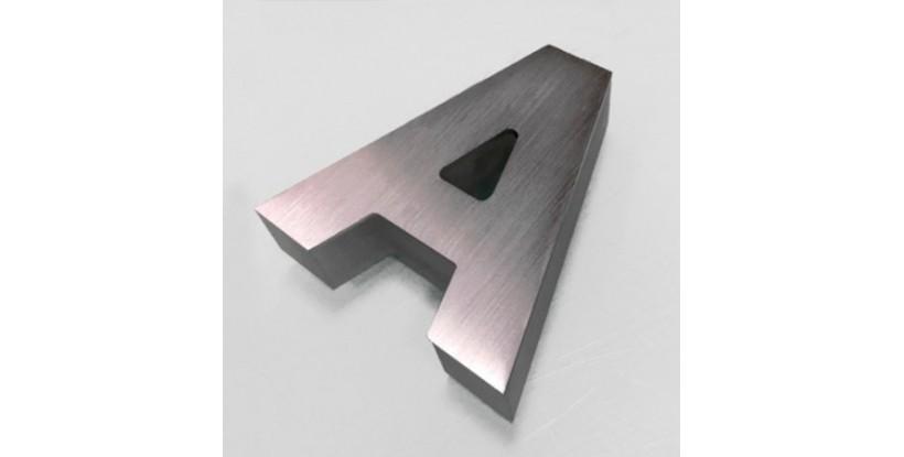 Letras Corpóreas Aluminio + Metacrilato Iluminado