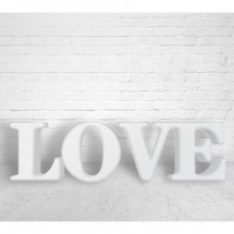 Letras love gigantes