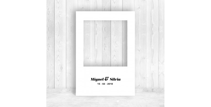 Marco Polaroid Boda