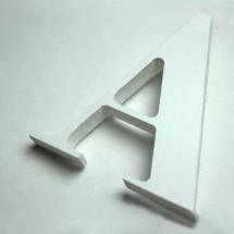 Letras Corpóreas PVC