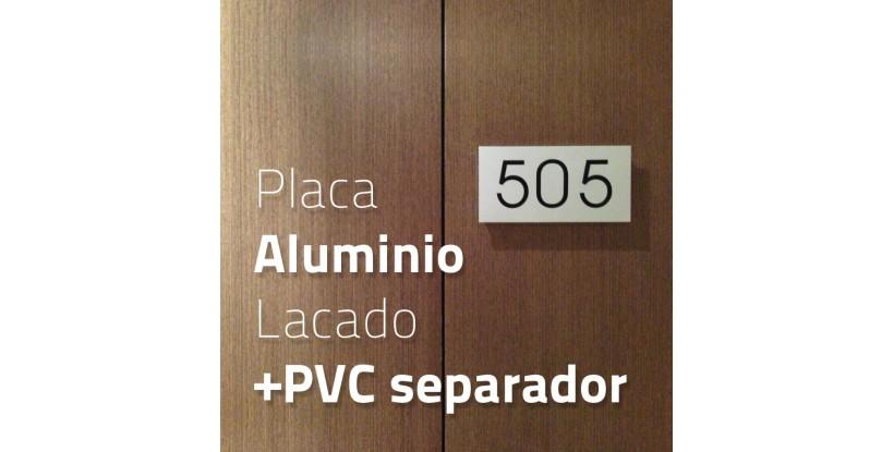 Placa Aluminio y PVC
