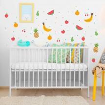 Vinilo Infantil Tutti Frutti