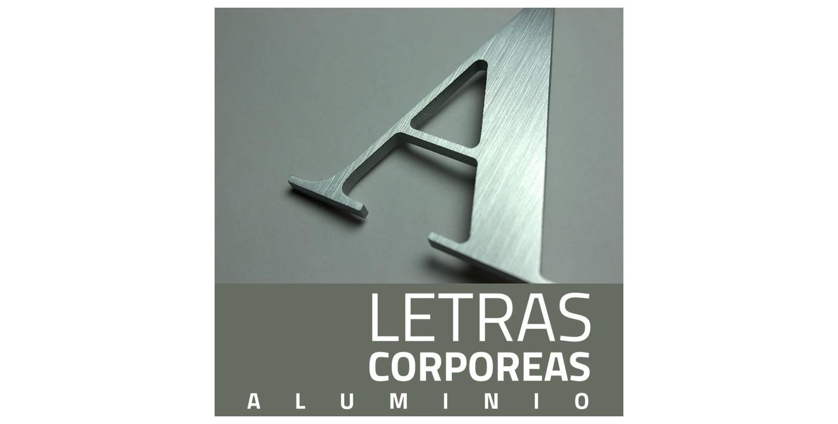 Letras corp reas aluminio letra corp rea aluminio - Letras para pared ...