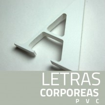 letras PVC