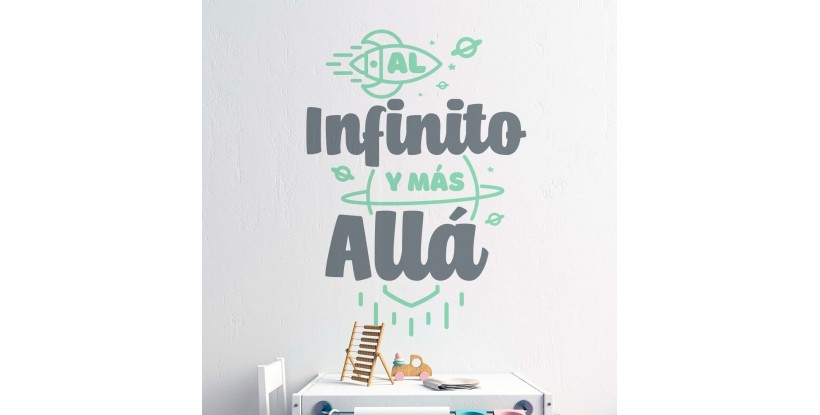 Vinilo Al Infinito y Más Allá