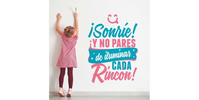 Vinilo Infantil ¡Sonríe!