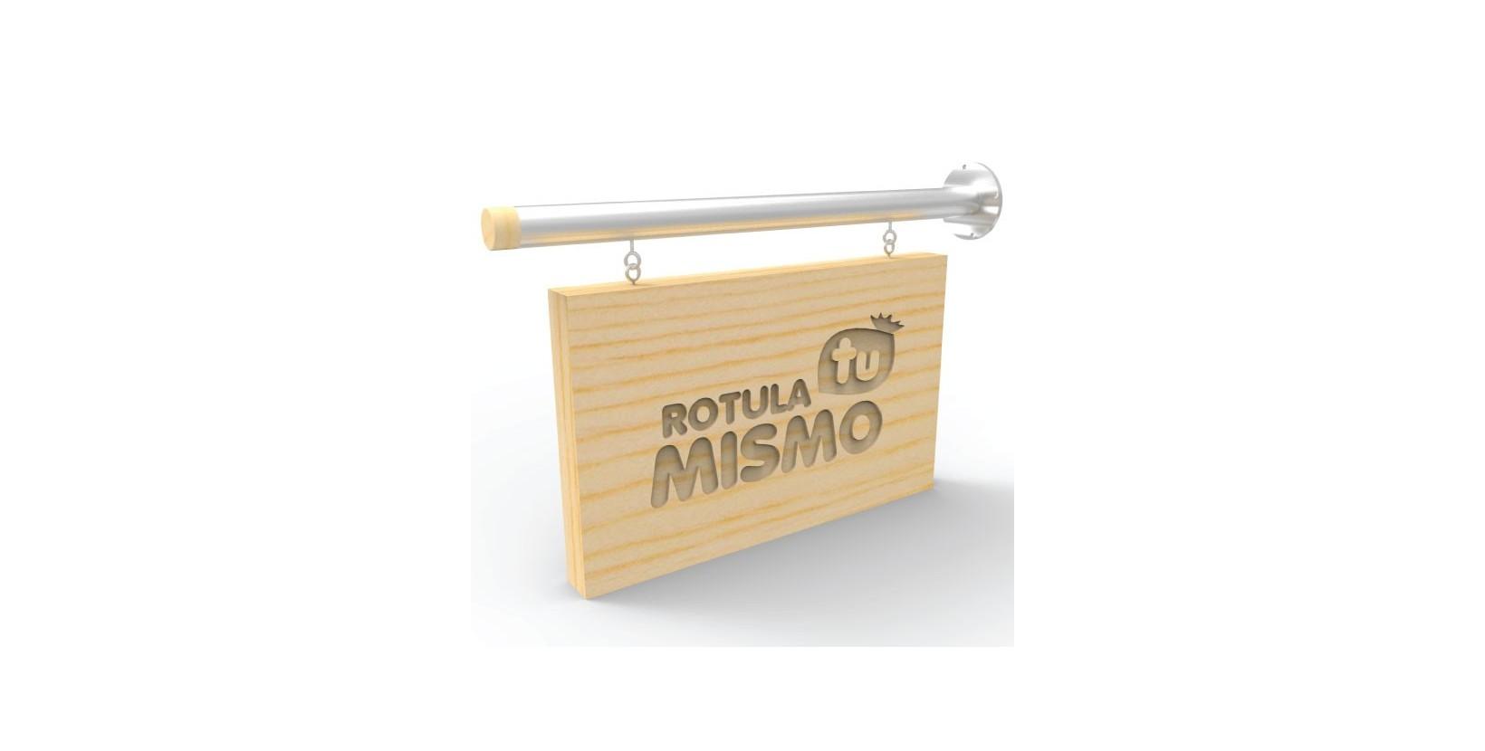 Banderola madera y aluminio for Futon de dos plazas precio