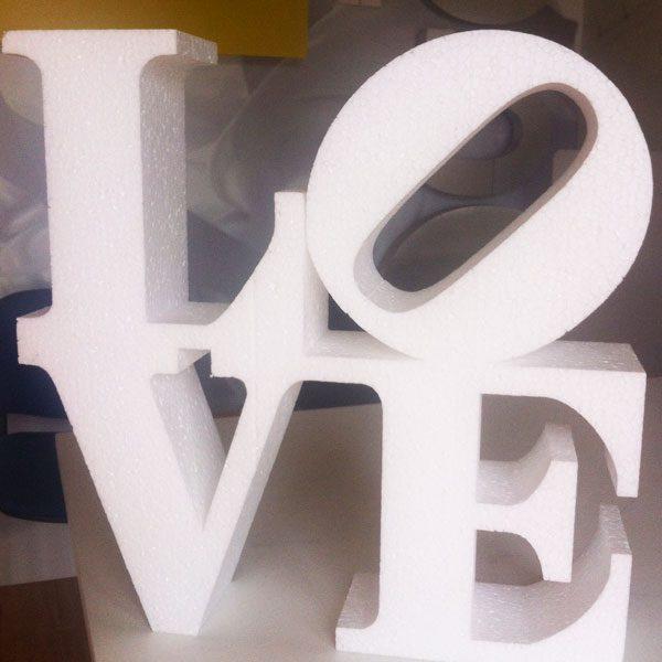 Letras love bodas el blog de for Letras gigantes para bodas baratas