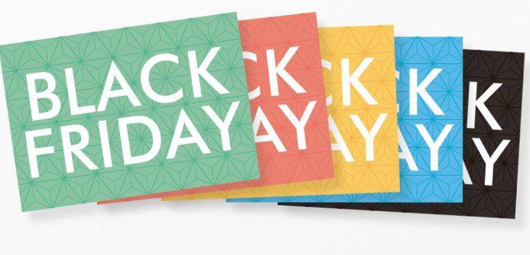 carteles para el Black Friday