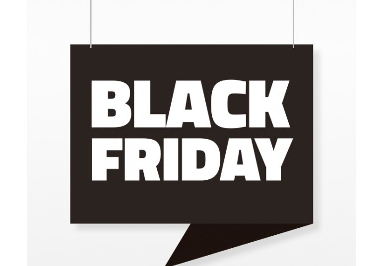 carteles para el Black Friday