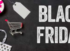 cartel para el black friday
